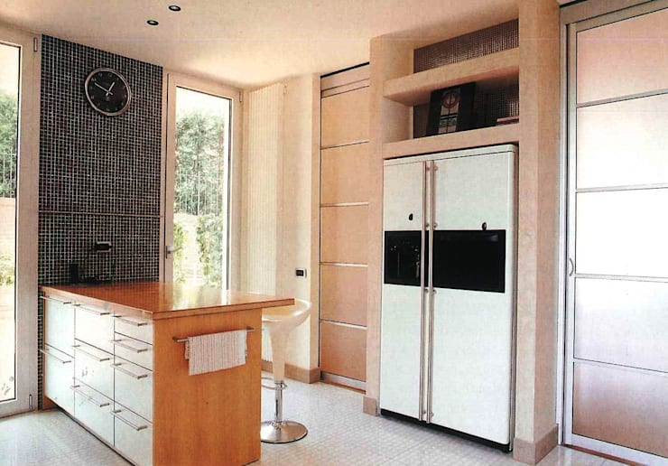 Projekty,  Kuchnia zaprojektowane przez Zeno Pucci+Architects