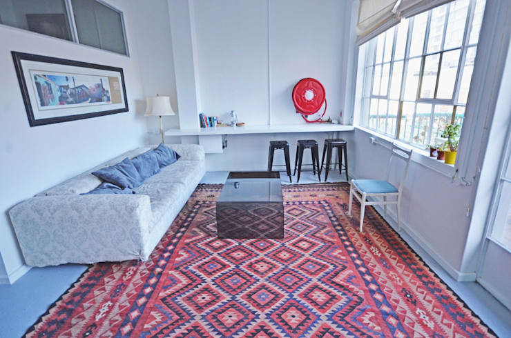 lounge: modern Living room by Till Manecke:Architect