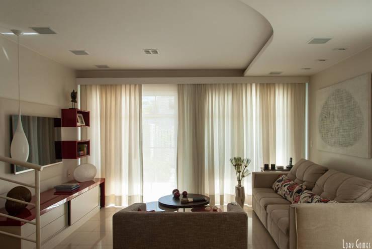 Salas de estar  por Virna Carvalho Arquiteta