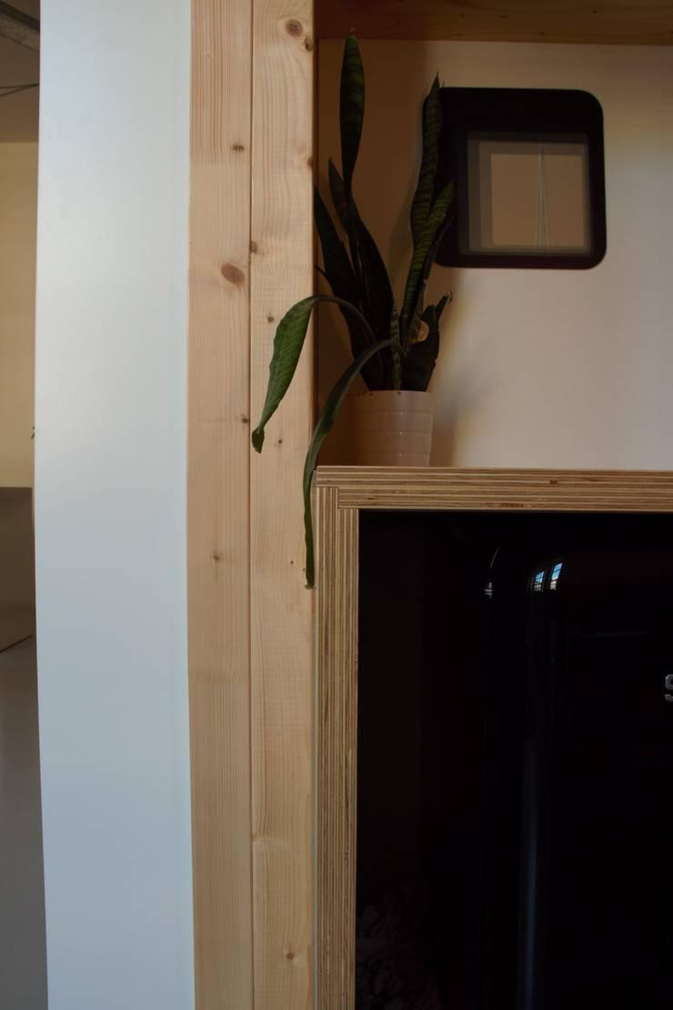 detail pantry:  Kantoor- & winkelruimten door Erik van Zanten Ontwerpen en Bouwen, Modern