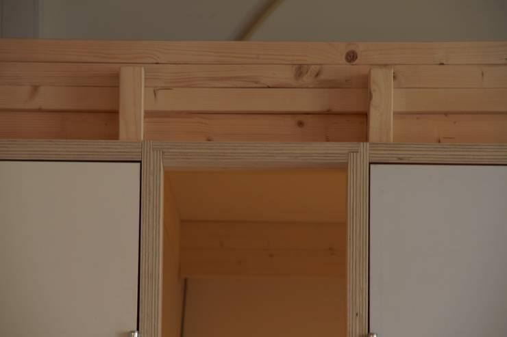 detail spreekkamer venster:  Kantoor- & winkelruimten door Erik van Zanten Ontwerpen en Bouwen, Modern