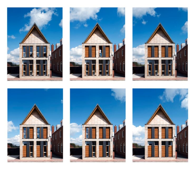 Loenen J4:  Huizen door VHS Architecten, Modern