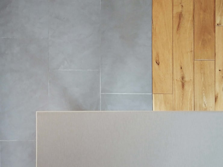 Cuisine et Salle d'eau – Créteil Cuisine minimaliste par Sandrine Carré Minimaliste