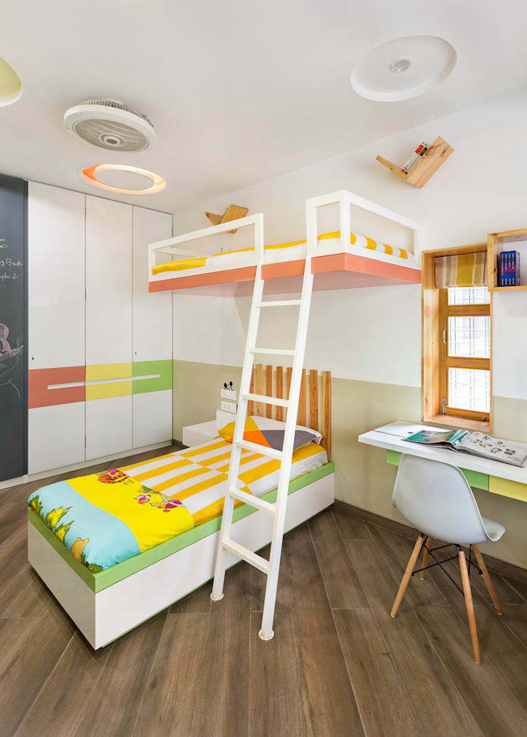 Kid's Room: modern Bedroom by The design house