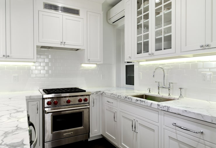 Renovation on 82nd Street:  Kitchen by KBR Design and Build