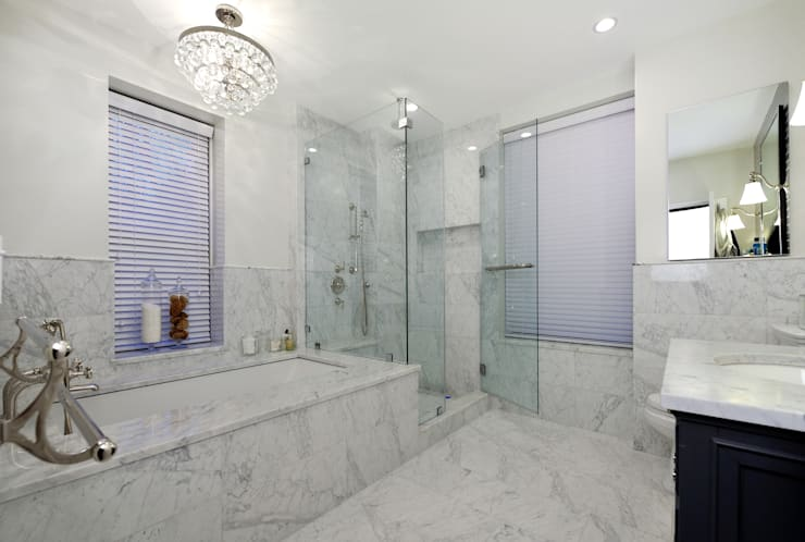 Renovation on 82nd Street:  Bathroom by KBR Design and Build