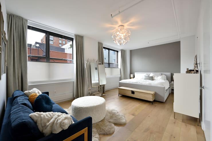 Renovation at 7 Wooster:  Bedroom by KBR Design and Build