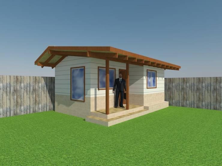Proyecto Oficina Puerto Montt:  de estilo  por Arquitectura y Construcción Chinquel