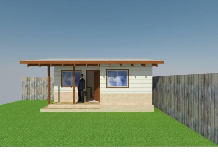 HomeOfice:  de estilo  por Arquitectura y Construcción Chinquel