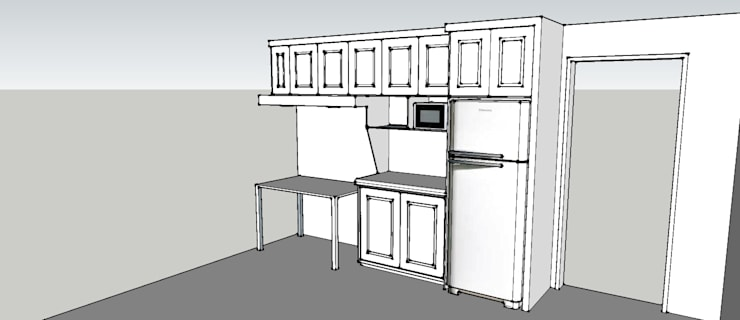 Mueble Cocina: Cocina de estilo  por Arquitectura y Construcción Chinquel