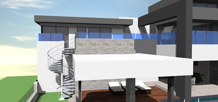 Steyn city project no 1:  Houses by Pen Architectural