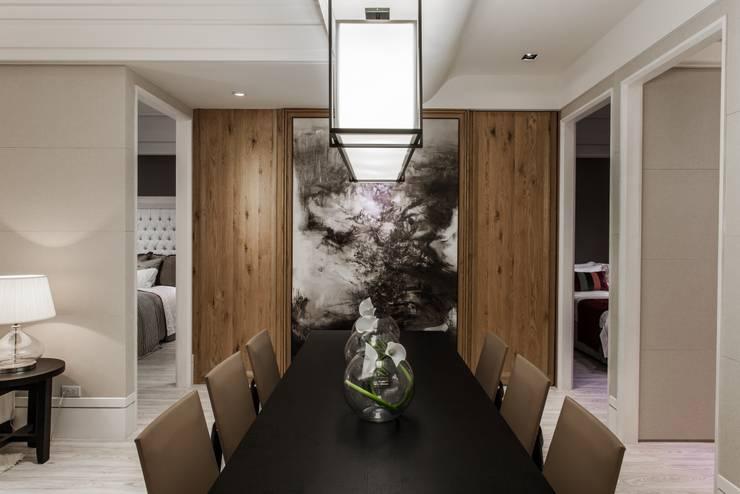 《聚‧日常》:  餐廳 by 辰林設計實業有限公司