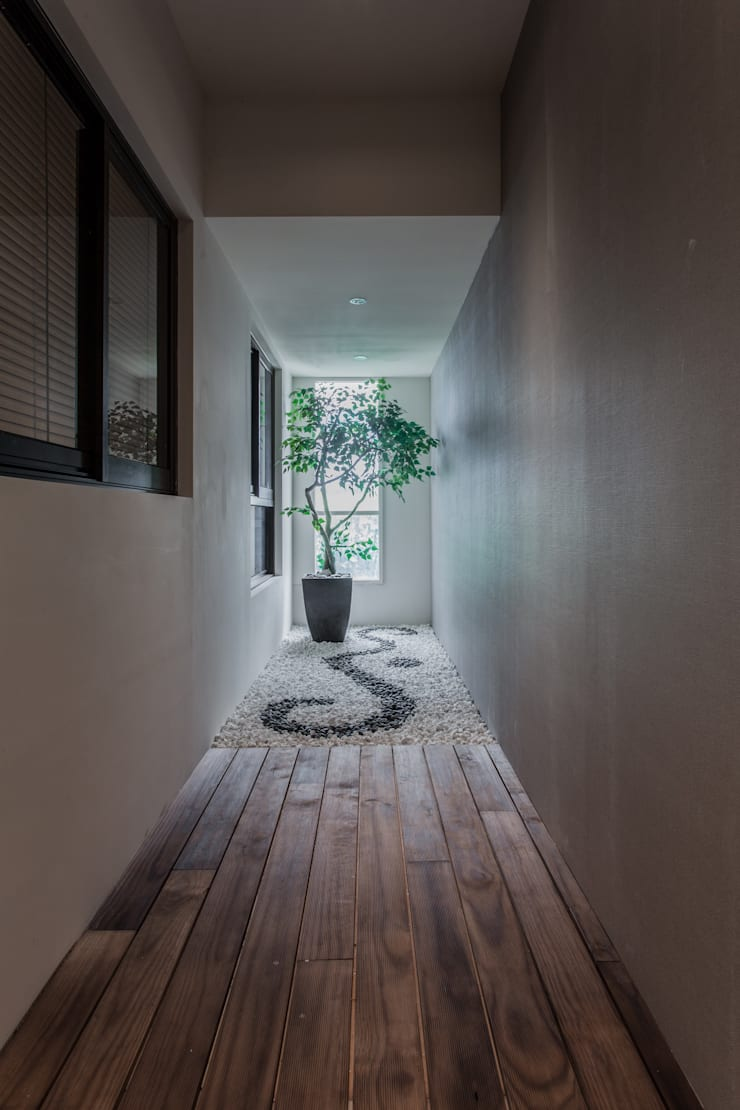 《聚‧日常》:  露臺 by 辰林設計實業有限公司