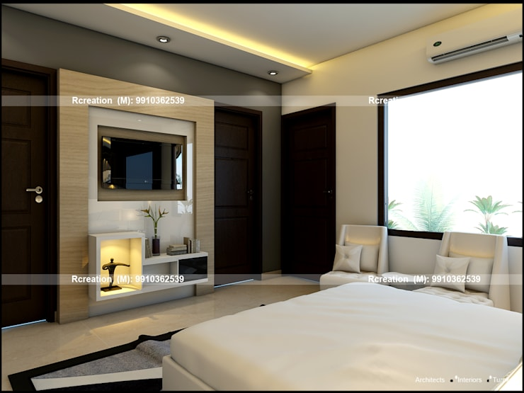 Interior:  Bedroom by Rcreation