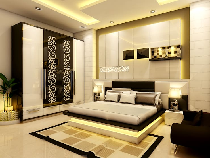 Interior: modern Bedroom by Rcreation