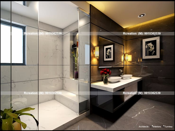 Interior:  Bathroom by Rcreation