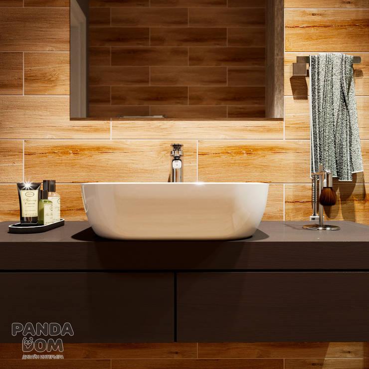 Экономичный лофт: Ванные комнаты в . Автор – дизайн-студия PandaDom