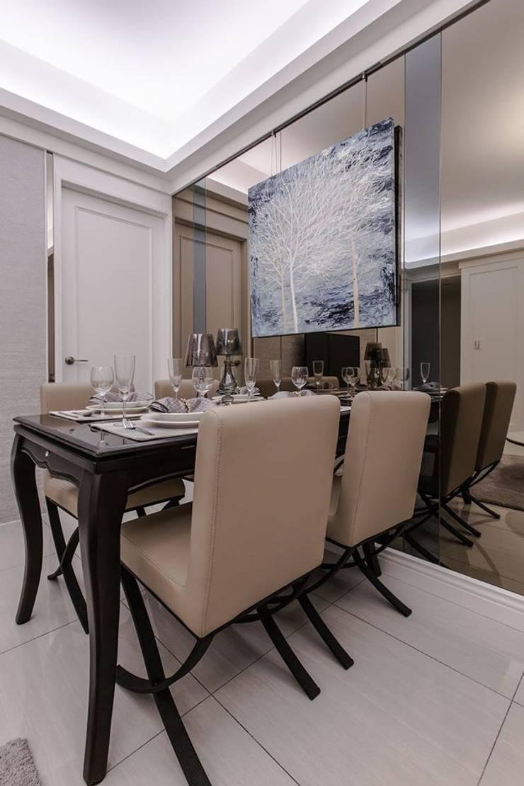 餐廳氛圍:  餐廳 by 你你空間設計