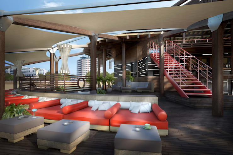 Sunny Beach – Bar Restorant:  Bars & clubs by eNArch.info