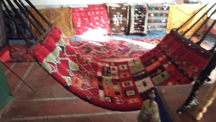 Boujad berber rug:  Garden  by BOHOZOO