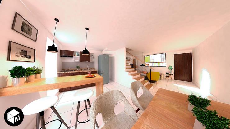 Cocina - Comedor : Comedores de estilo  por Polygon Arquitectura