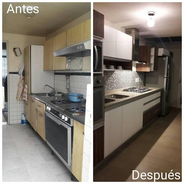 Cocina:  de estilo  por D+STUDIO ARQUITECTURA*INTERIOR