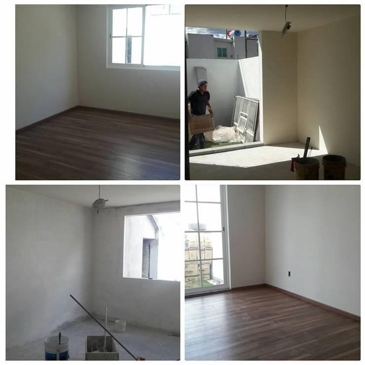 Habitaciones:  de estilo  por D+STUDIO ARQUITECTURA*INTERIOR