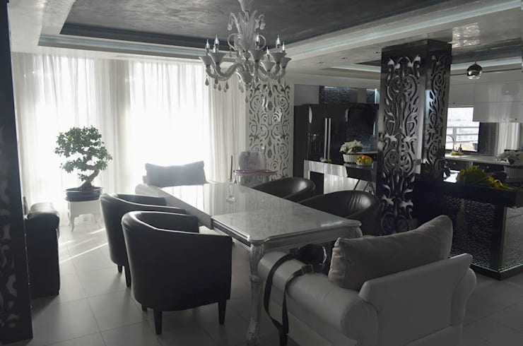 APARTMENT VD SOFIA: modern Dining room by eNArch.info