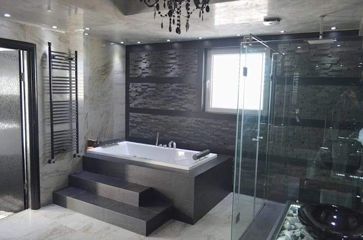 APARTMENT VD SOFIA: modern Bathroom by eNArch.info