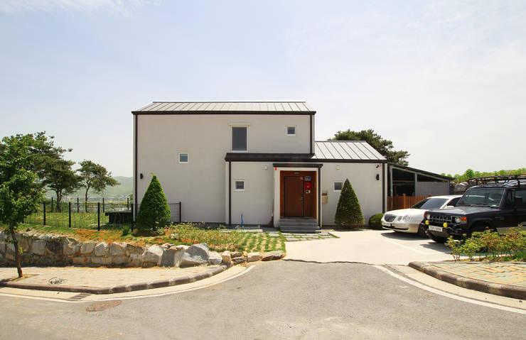 Projekty,  Domy zaprojektowane przez 로이하우스
