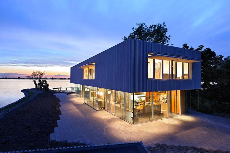 Villa Röling:  Huizen door Architectenbureau Paul de Ruiter, Minimalistisch