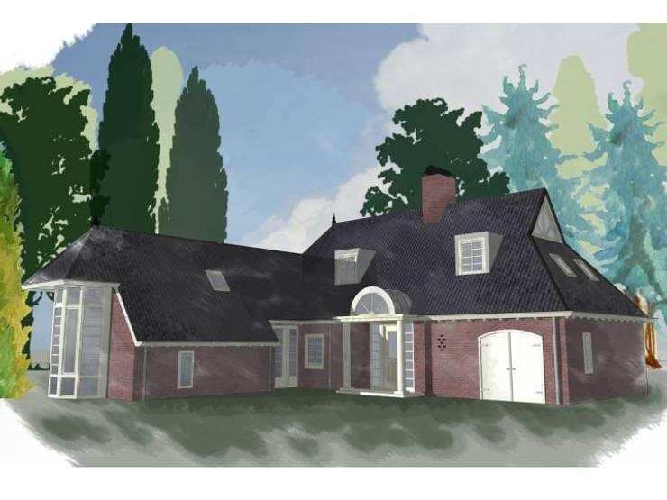 Maisons de style  par G.L.M. van Soest Architect, Rural