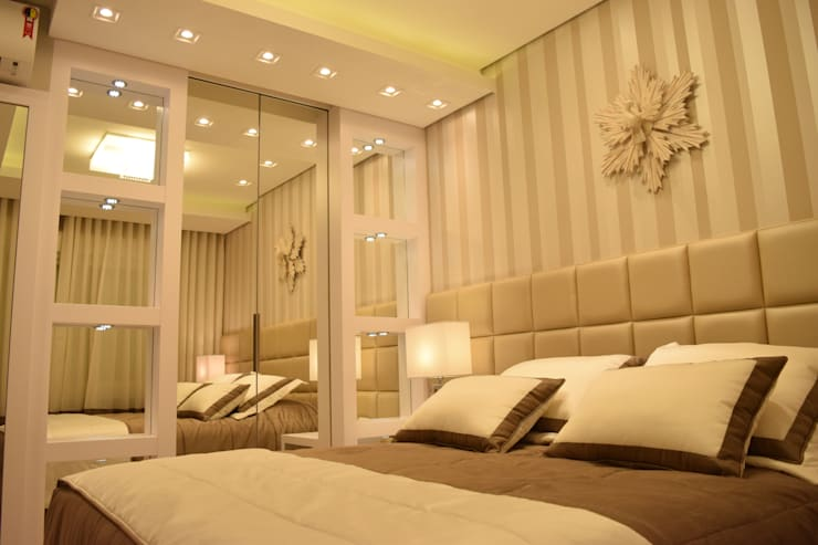 Habitaciones de estilo moderno por DecaZa Design