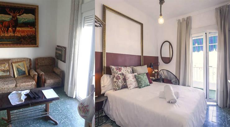 غرفة نوم تنفيذ SH Interiorismo