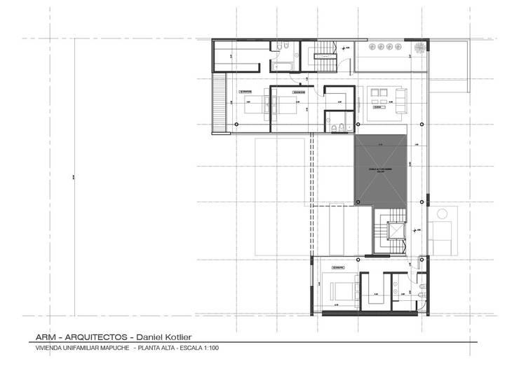 Planta Alta: Casas de estilo  por ARM Arquitectos