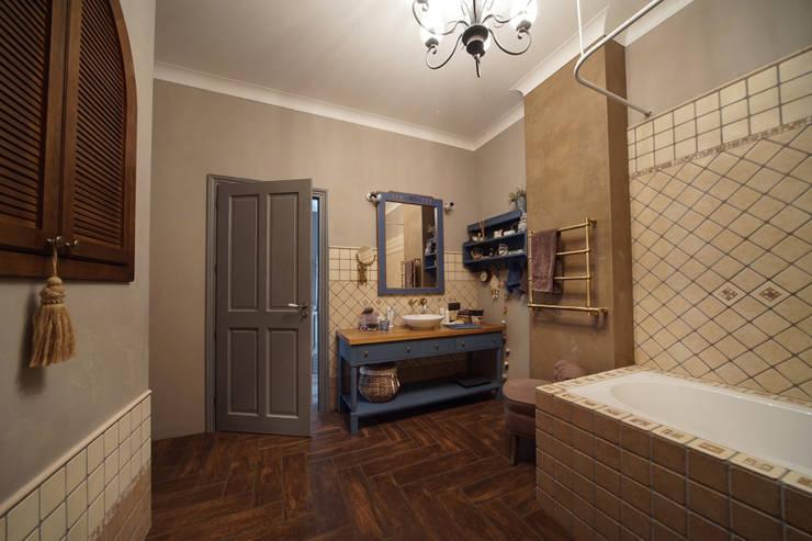 Projekty,  Łazienka zaprojektowane przez SK- Sokolova design & Kogut Stroy