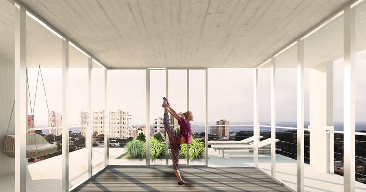 Área de Yoga:  de estilo  por MAAN