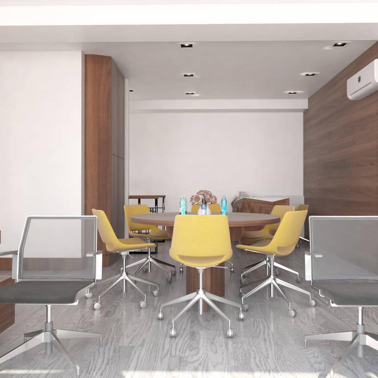 GN İÇ MİMARLIK OFİSİ – Istanbul Nişantaşı Ofis Dekorasyonu:  tarz Ofis Alanları & Mağazalar,