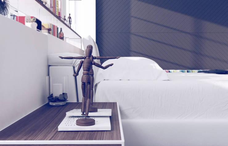 Bedroom by GN İÇ MİMARLIK OFİSİ