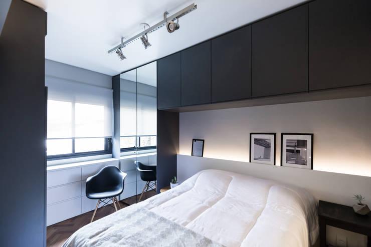 Bedroom by K+S arquitetos associados