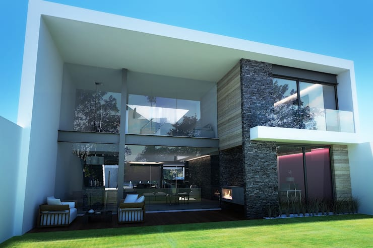 modern Houses by TARE arquitectos