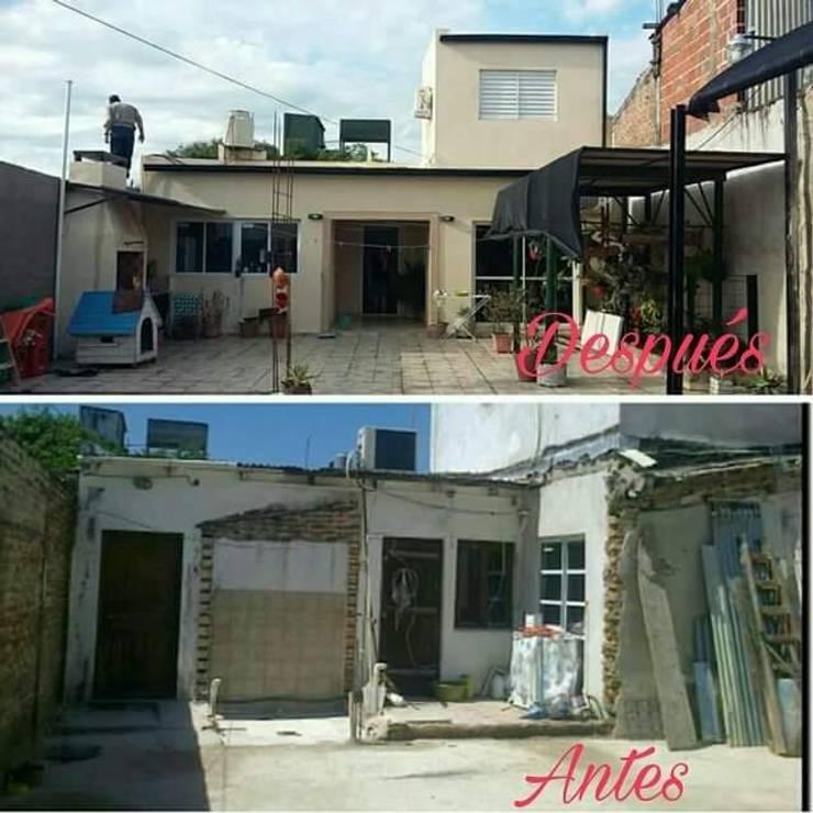 Refacción - decoración  de interiores:  de estilo  por Ea Alejandra Alvarez construcciones ARQ & DECO,