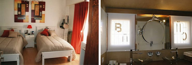 CALOR DE HOGAR: Dormitorios de estilo  por Majo Barreña Diseño de Interiores,