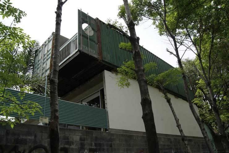 Casas de estilo  por TARE arquitectos