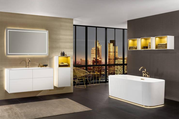 Villeroy & Bochが手掛けた浴室