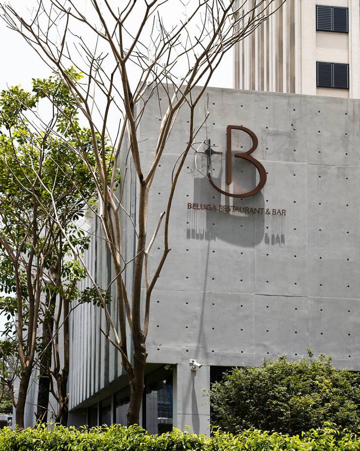 Beluga Restaurant& Bar        建築外觀:  餐廳 by 原形空間設計