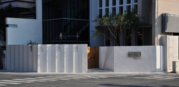 「Le Mout樂沐」法式餐廳外觀:  餐廳 by 原形空間設計