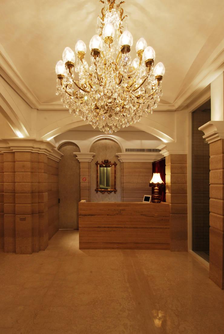 「Le Mout樂沐」法式餐廳:  餐廳 by 原形空間設計