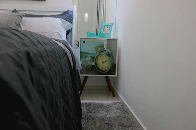 Decoração Dormitório Casal : Quartos  por Amanda Matarazzo Interiores