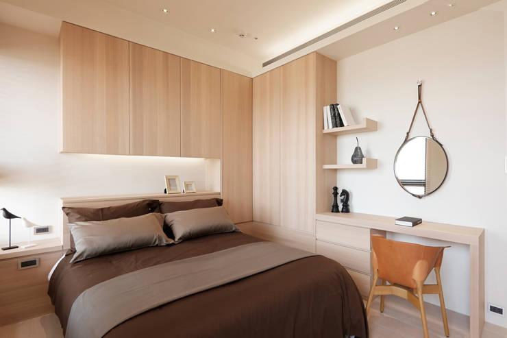 modern Bedroom by 沐設計